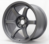 Gram Lights 57DR 18X9.5 +38 5-114.3 GUN BLUE 2
