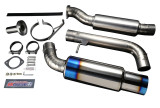 Tomei Expreme Ti Cat-Back Exhaust System, 2003-2009 350Z Tomei Expreme Ti Cat-Back Exhaust System, 2003-2009 350Z