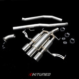 """K-TUNED 3"""" EXHAUST: CIVIC TYPE R FK8 17-18 (2.5"""" inch flange)"""