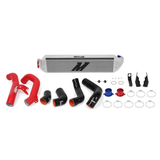 HONDA CIVIC 1.5T/SI PERFORMANCE INTERCOOLER KIT, 2016+ (SILVER INTERCOOLER/ RED PIPES)