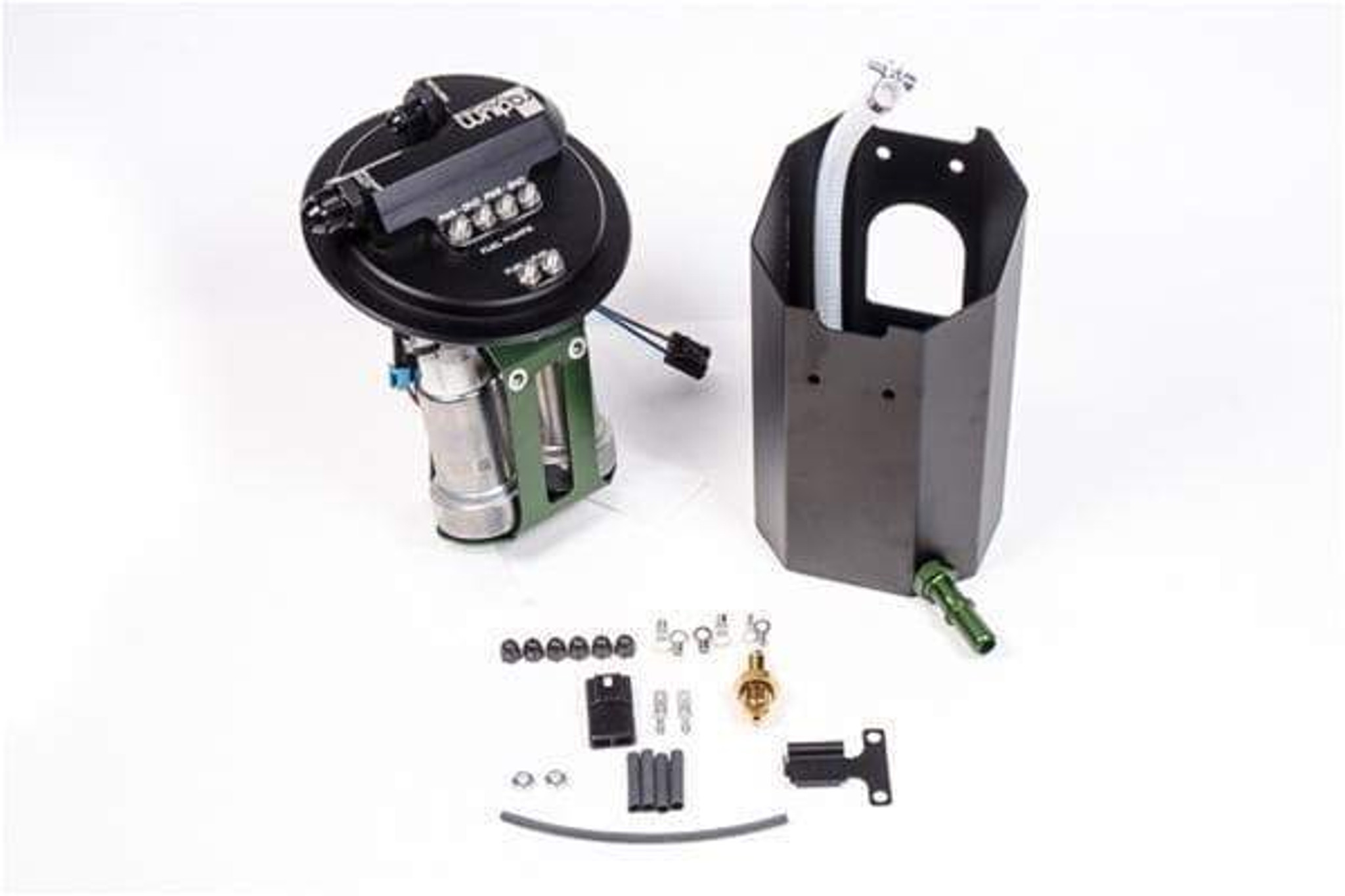 CUSTOM Electric Fuel Pump Strainer /& Connect Wire /& Clamps /& Gasket /& Cover 203