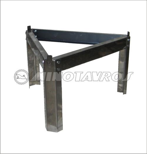 ΒΑΣΗ INOX 400-500LT - ΔΙΑΜΕΤΡΟΣ  72cm
