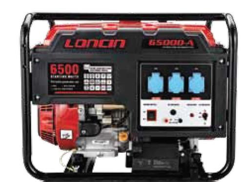 LONCIN LC 6500D- A  ΜΕ ΗΛΕΚΤΡΙΚΗ ΕΚΚΙΝΗΣΗ ΚΑΙ ΜΠΑΤΑΡΙΑ