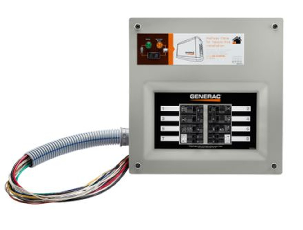 For manual transfer generator switch The 7