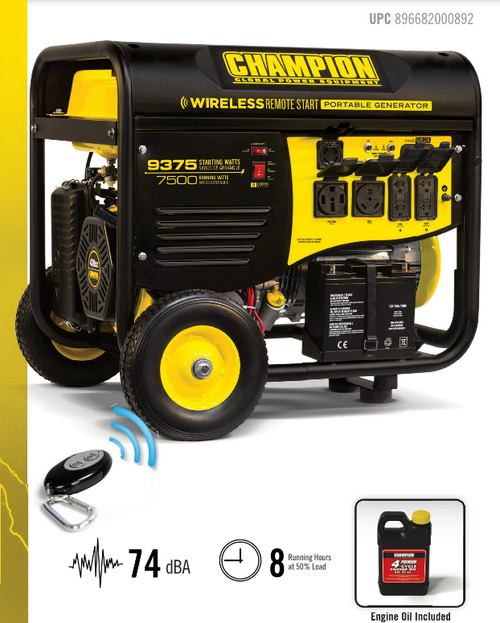 Champion Portable Generators a Name You Can Trust at Nationwide