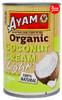 Ayam Organic Light Coconut Cream 400ml