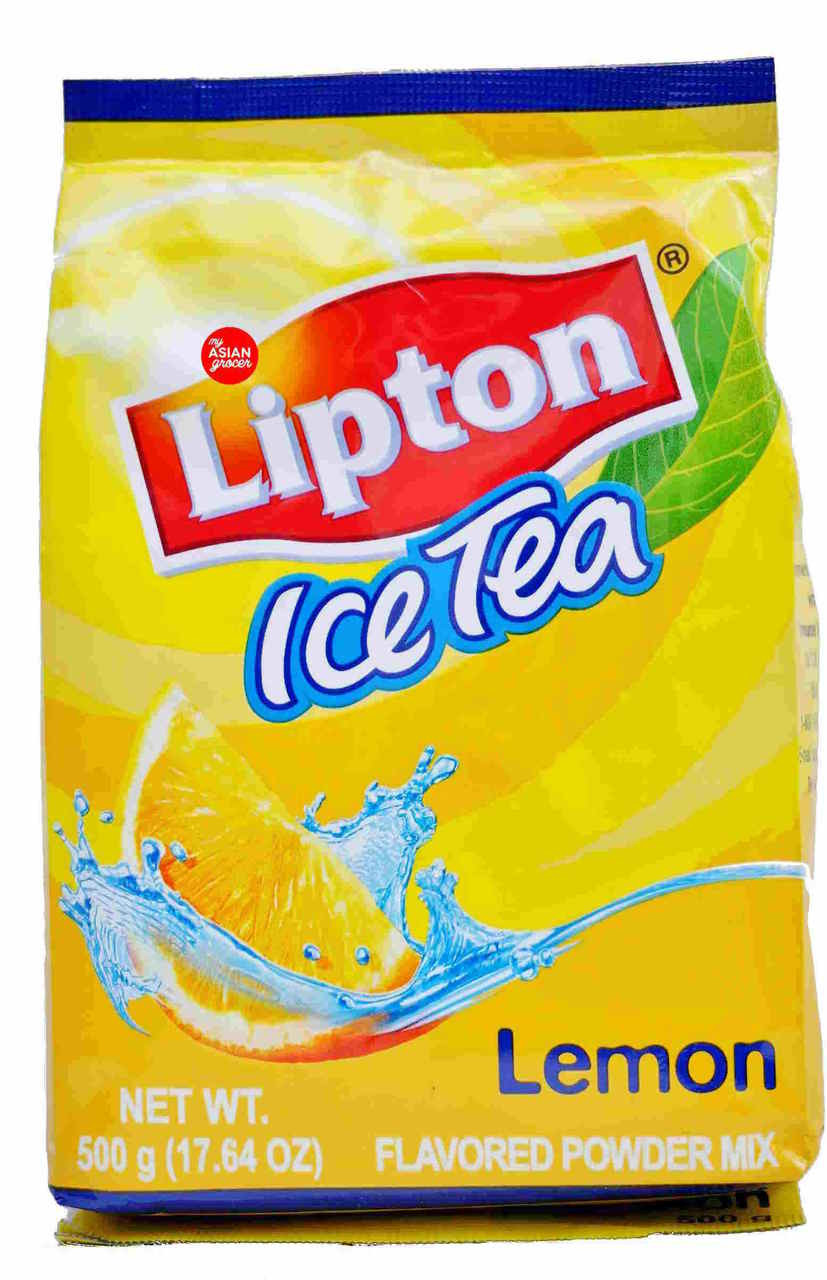 Lipton Ice Tea Lemon Flavored Powder Mix 500g - My Asian