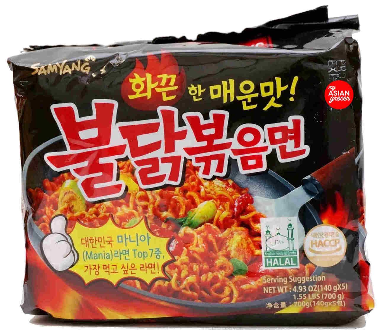 Samyang Spicy Chicken Ramen 140g x 5 Pack