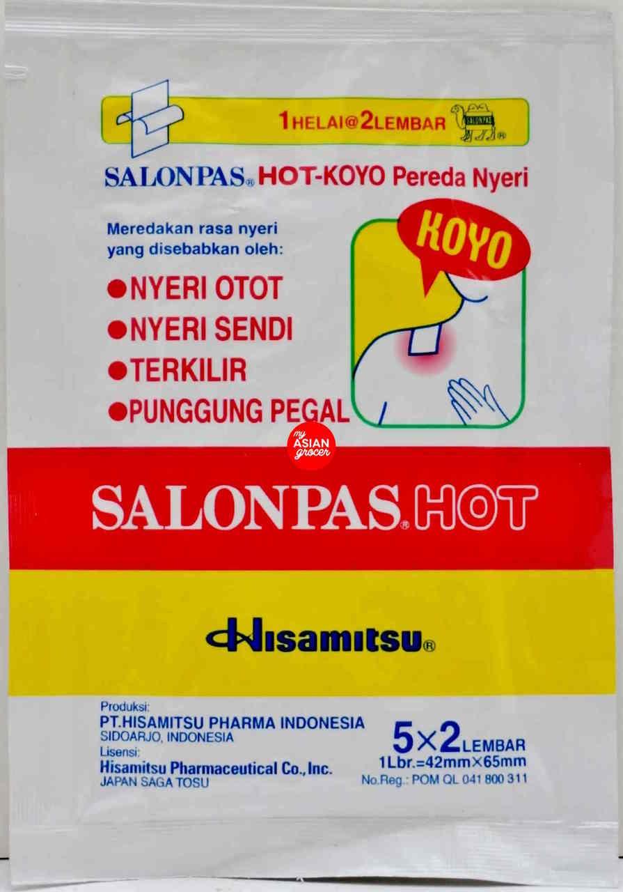 Hisamitsu Salonpas Hot (5 x 2) Patch