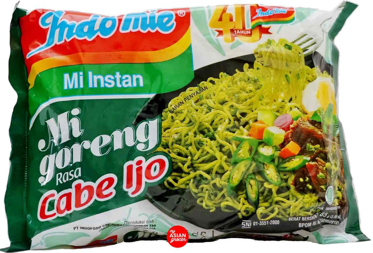 Indomie Mi Goreng Rasa Cabe Ijo 85g - My Asian Grocer