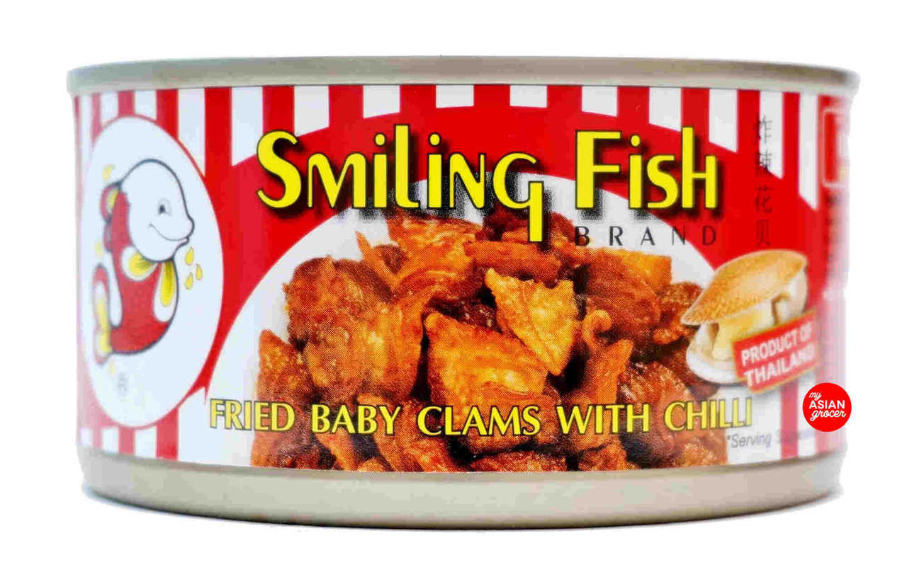 Smiling Fish Brand Fried Baby Clams with Chilli 70g