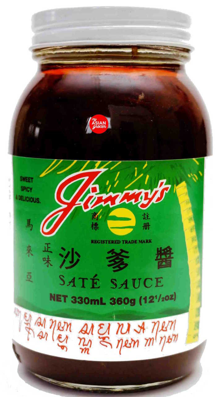 Jimmy S Sate Sauce 360g My Asian Grocer