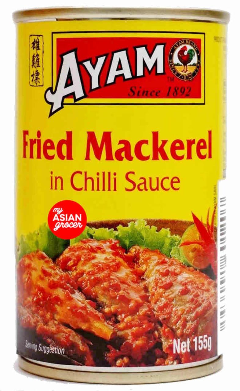 Ayam Fried Mackerel in Chilli Sauce 155g