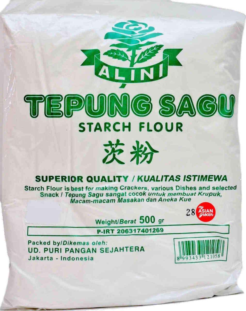 Alini Tepung Sagu Starch Flour 500g My Asian Grocer