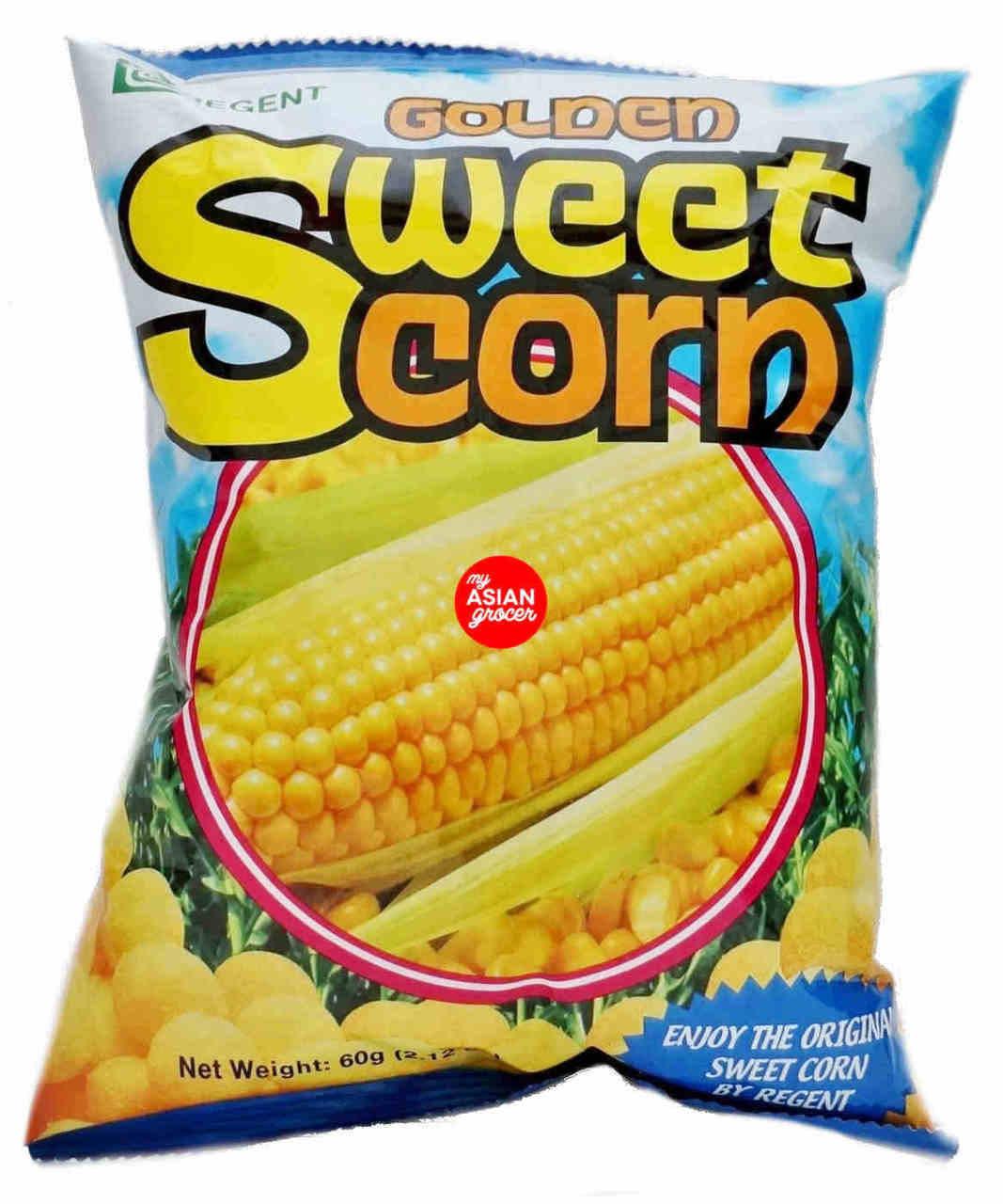 Regent Golden Sweet Corn Chips 60g My Asian Grocer