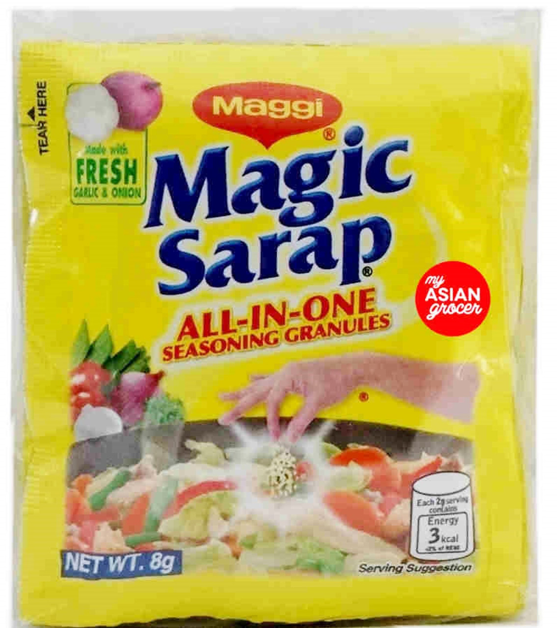Maggi Magic Sarap All-in-one Seasoning Granules 8g x 12