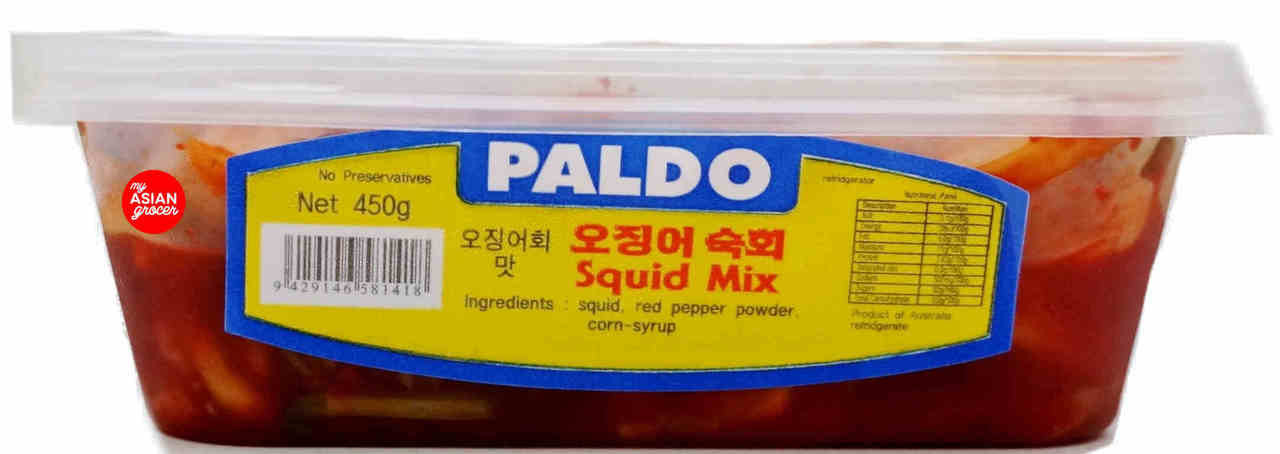 Paldo Squid Mix Banchan 450g