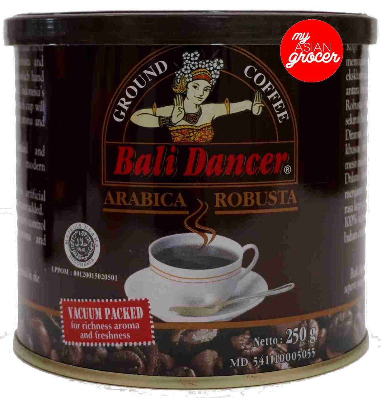 Bali Dancer Ground Coffee 250g My Asian Grocer