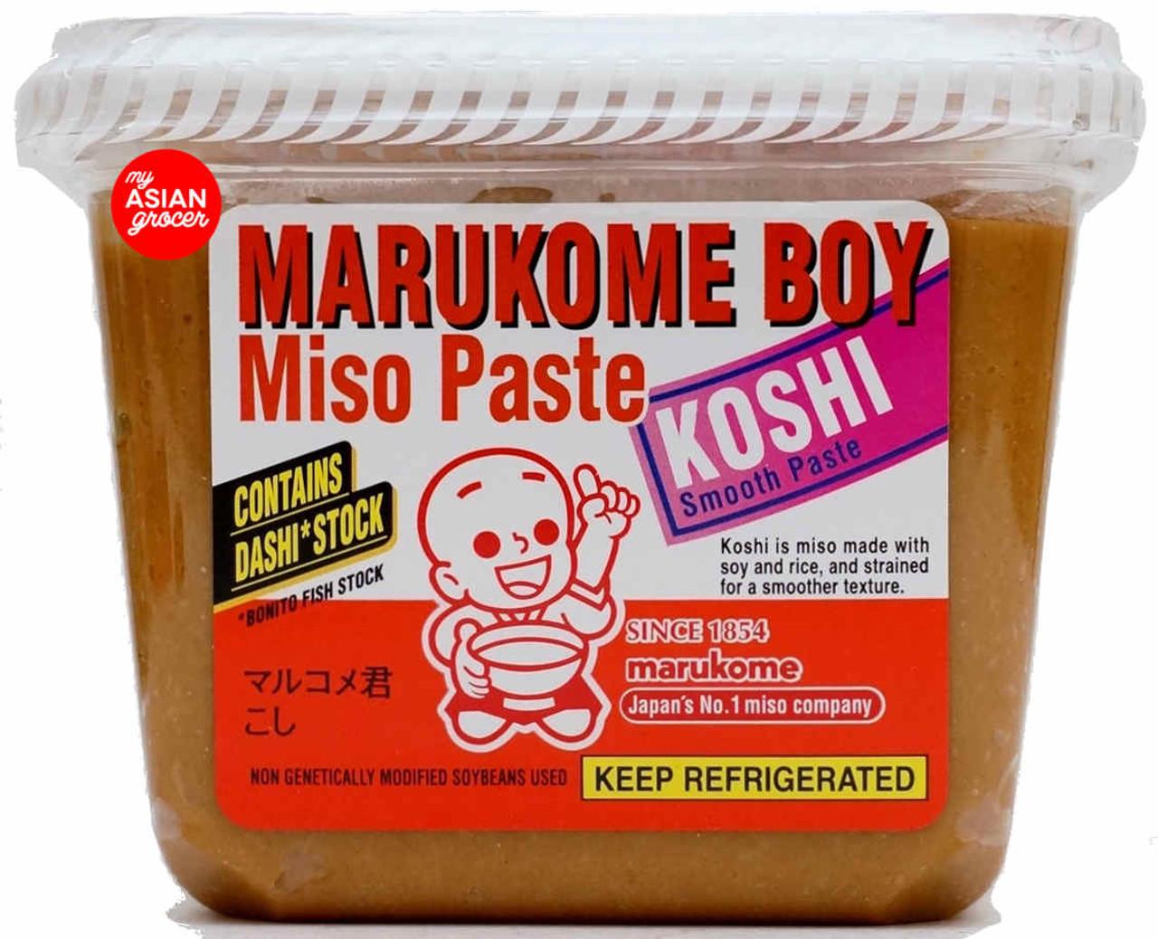 Marukome Boy Miso Paste Koshi 650g