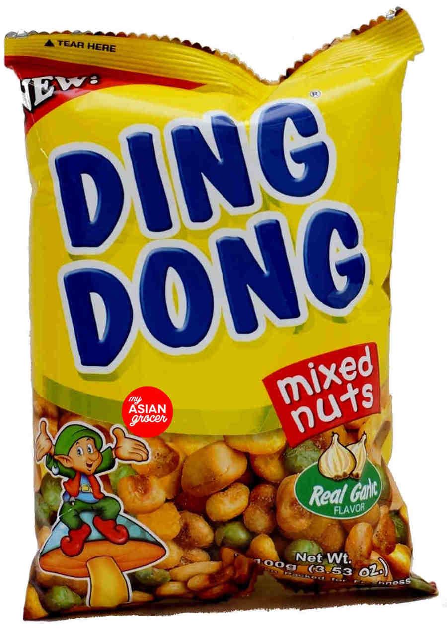 Ding Dong Mixed Nuts (Real Garlic Flavor) 100g