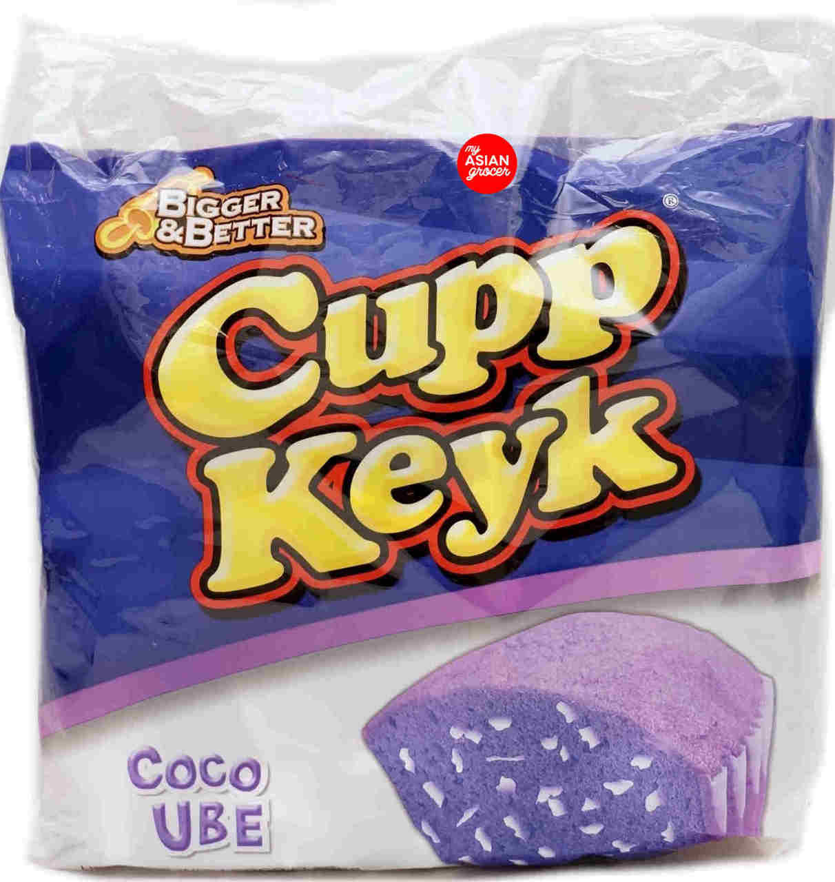 Cupp Keyk Coco Ube Cake with Coco Flakes 38g x 10