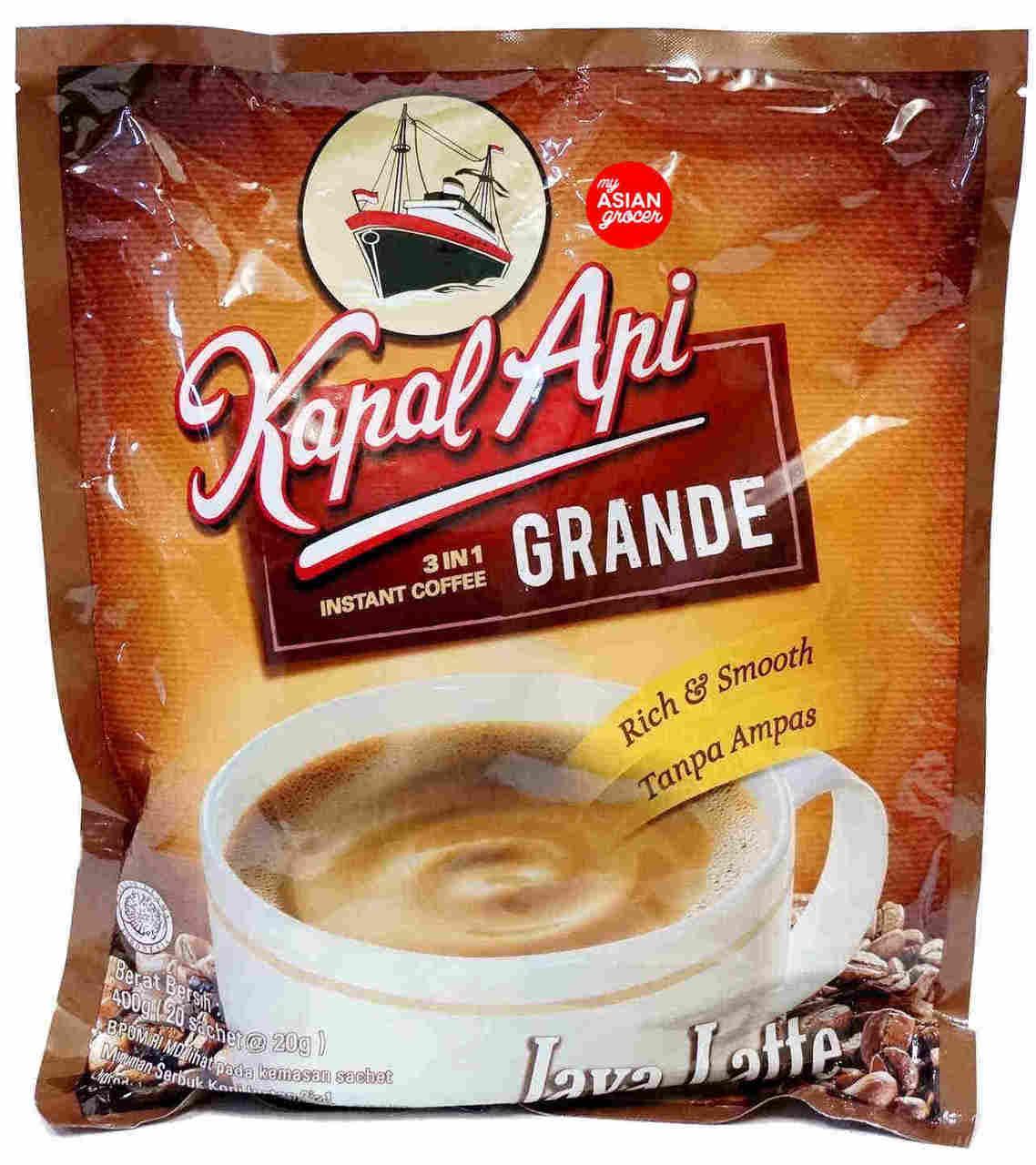 Kapal Api Grande 3 In 1 Instant Coffee 20g X 20 Sachet