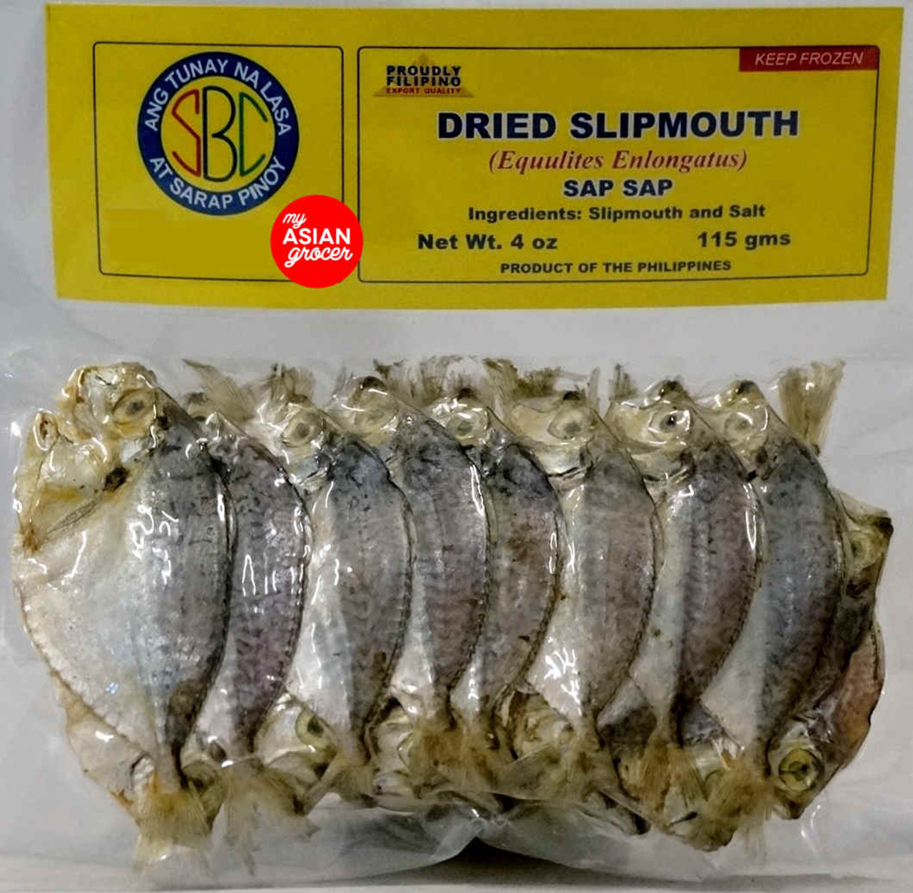 SBC Dried Slipmouth Sap Sap 200g