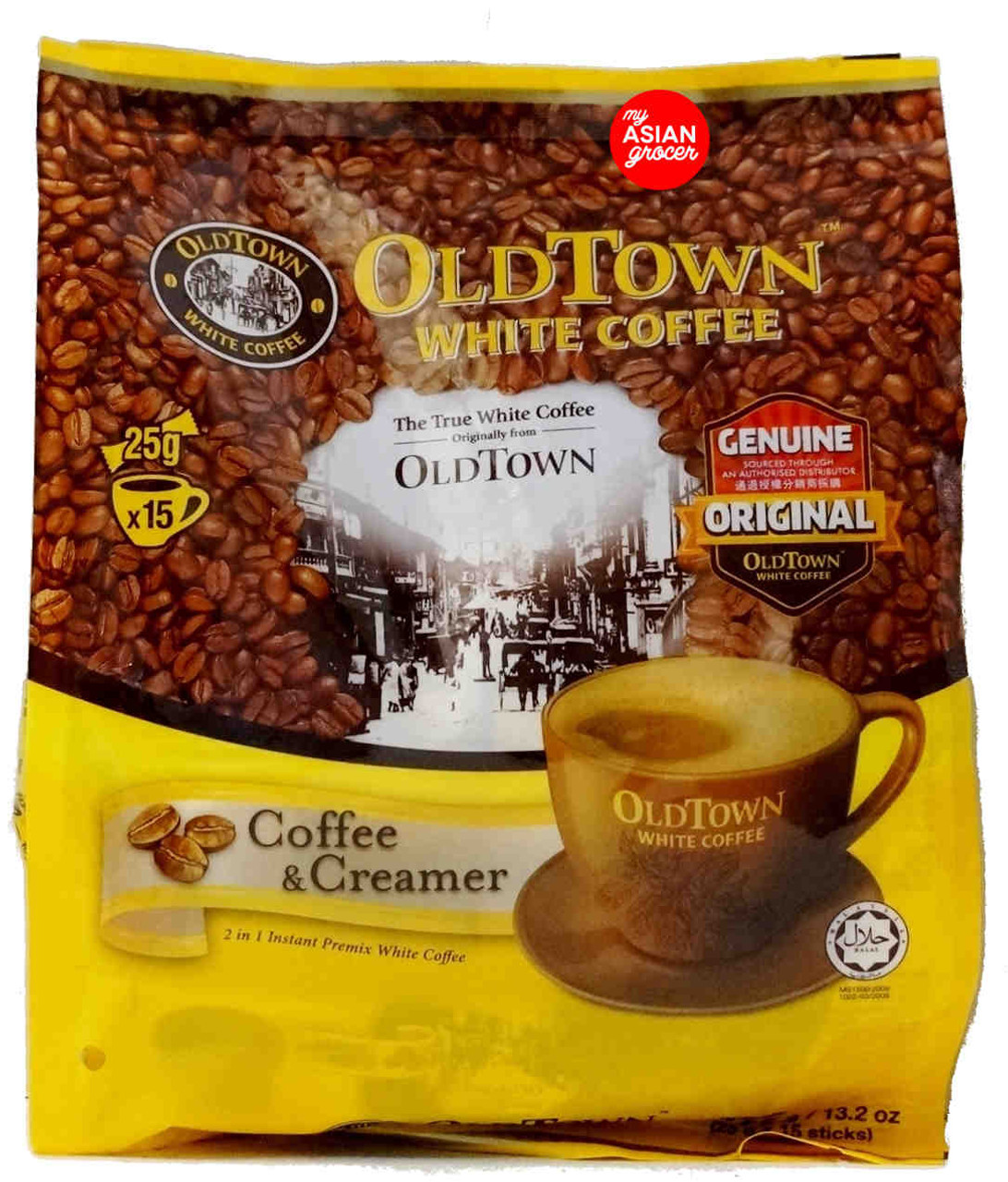 Old Town White Coffee Coffee & Creamer 375g