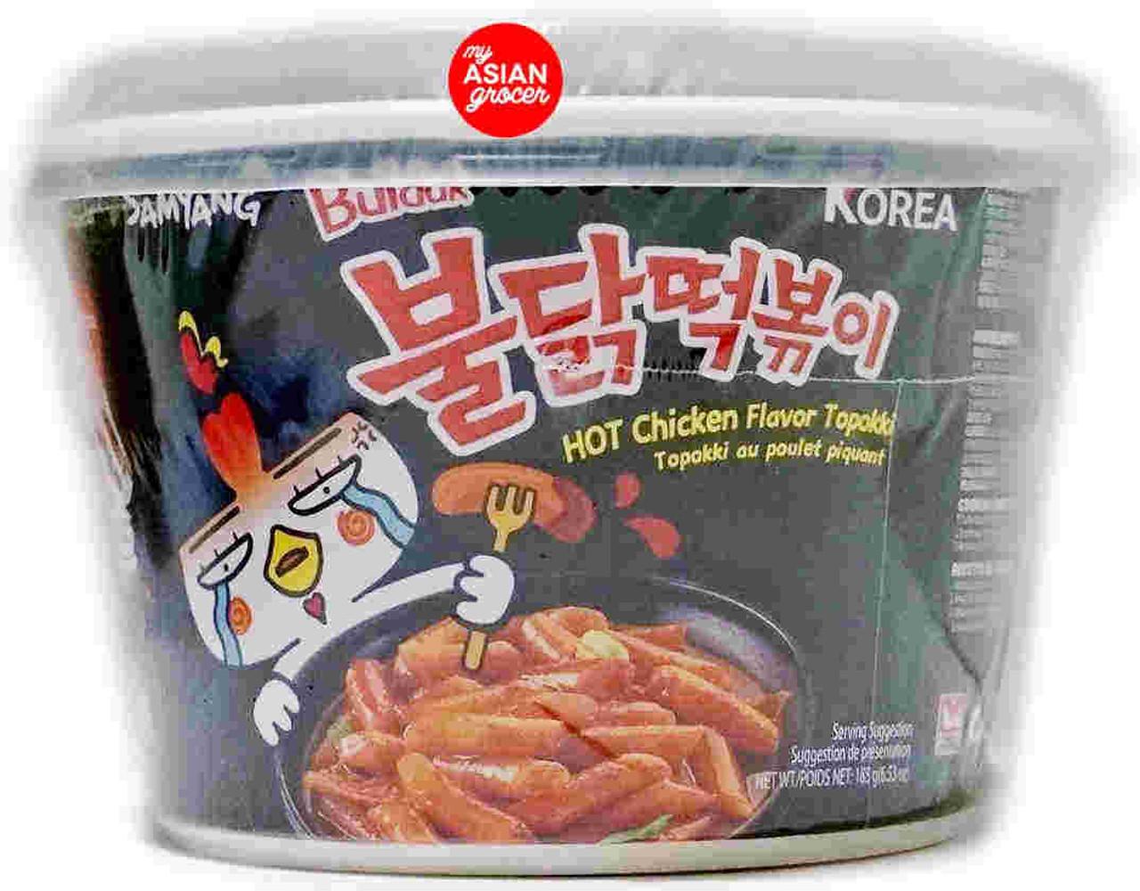 Samyang Buldak Hot Chicken Flavor Topokki 185g
