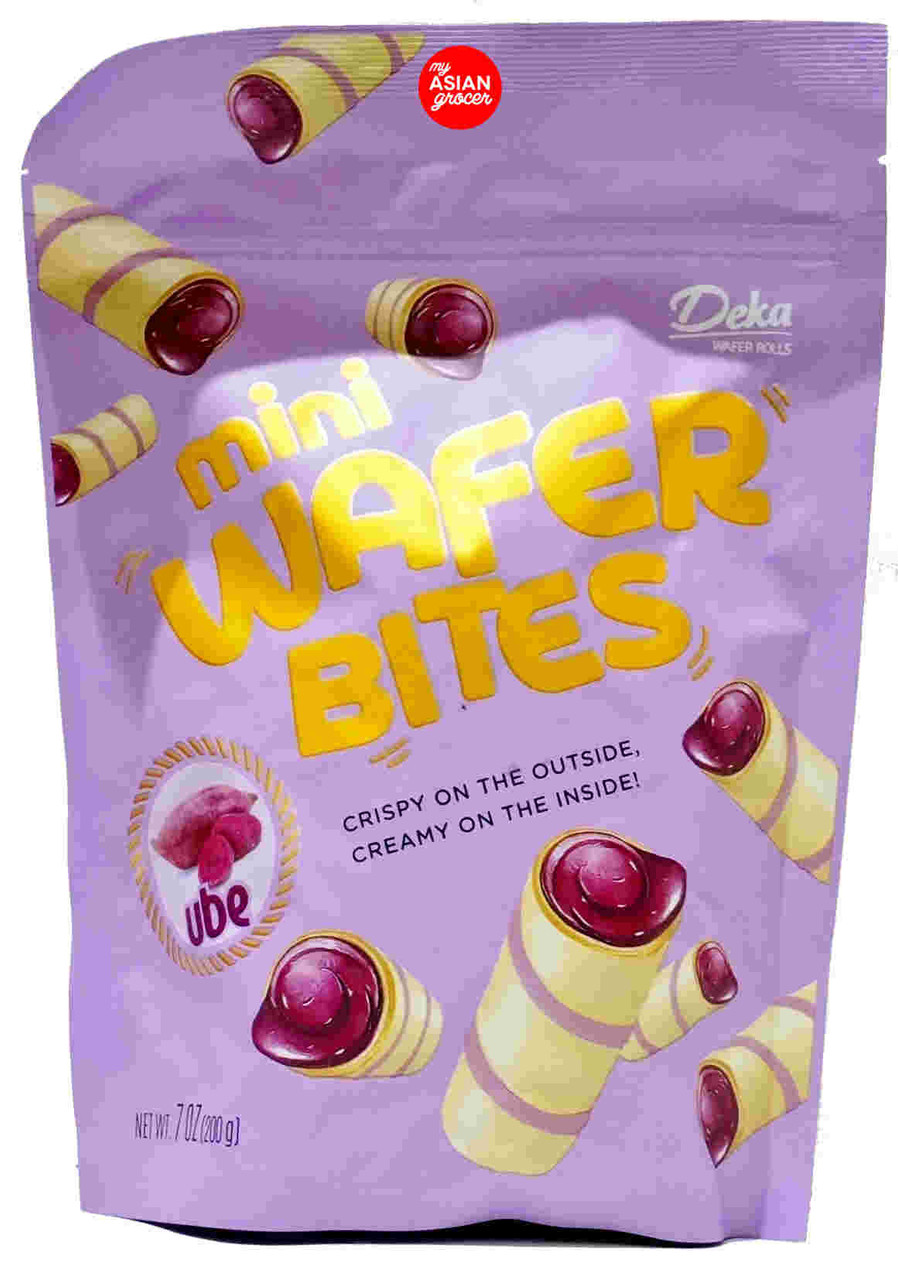 Deka Mini Wafer Bites Ube 200g