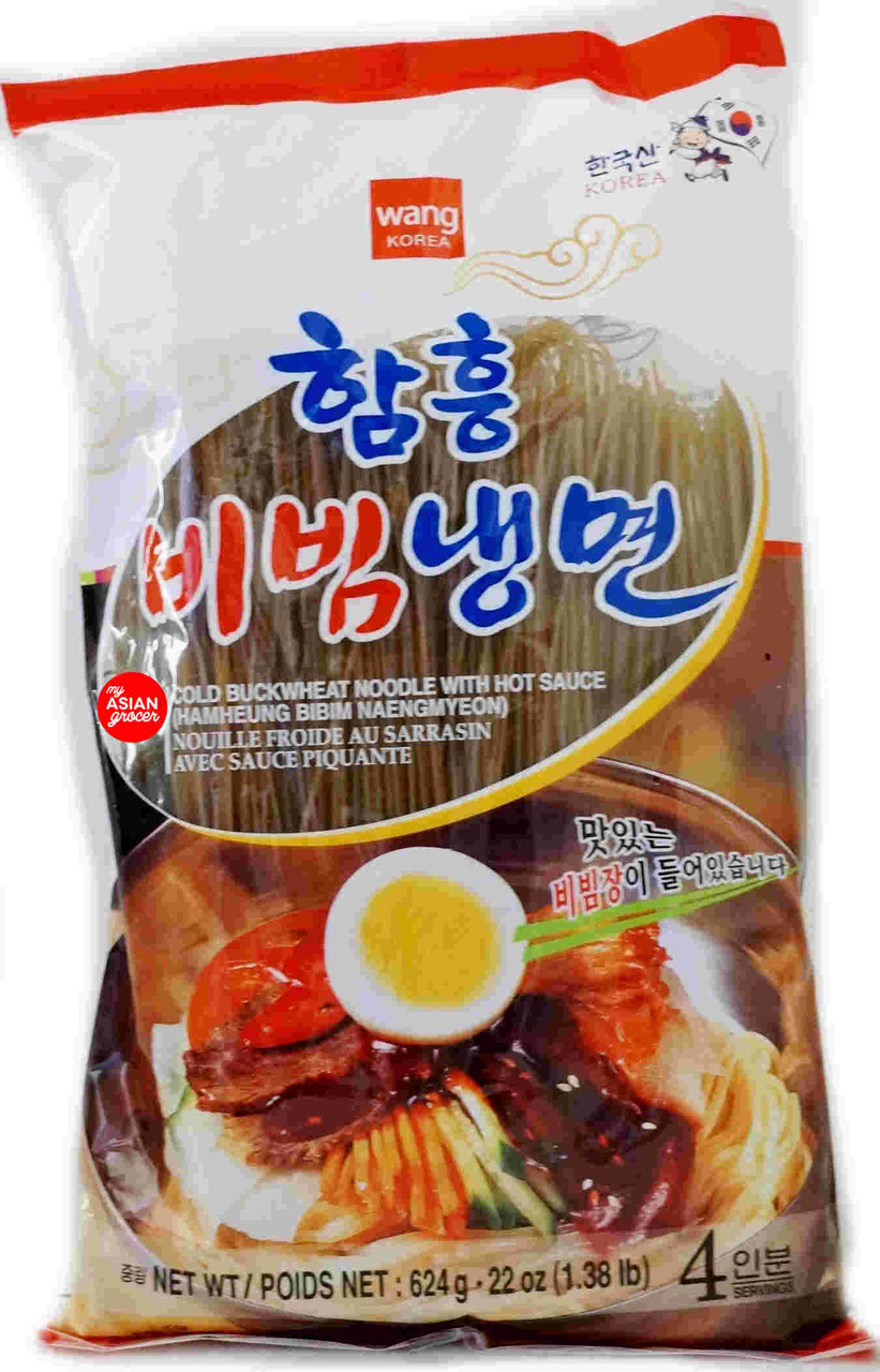 Wang Cold Buckwheat Noodles with Hot Sauce 624g