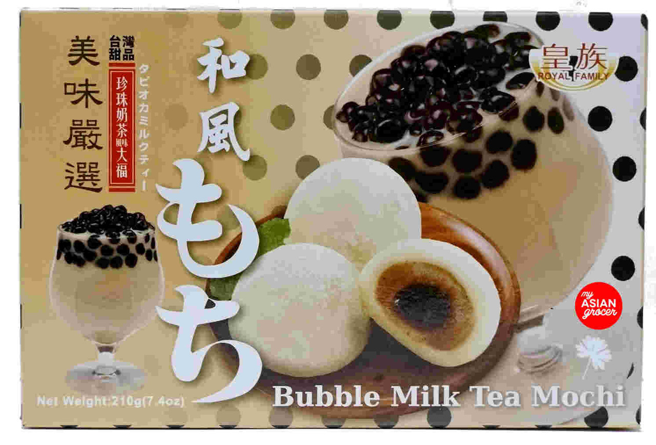 Royal Family Bubble Milk Tea Mochi 210g