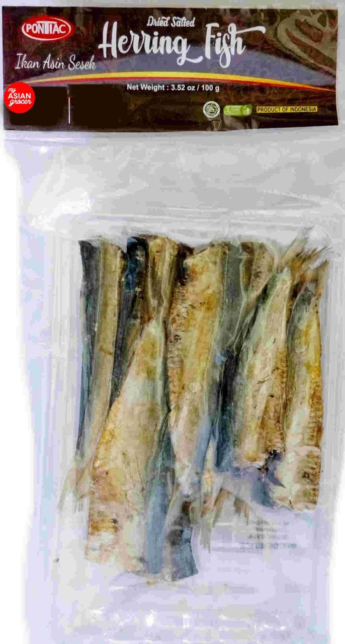 Pontiac Dried Salted Herring Fish 100g