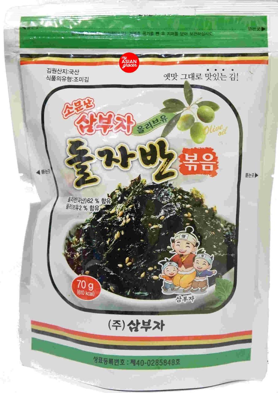 Sambuja Seasoned Seaweed Laver 70g