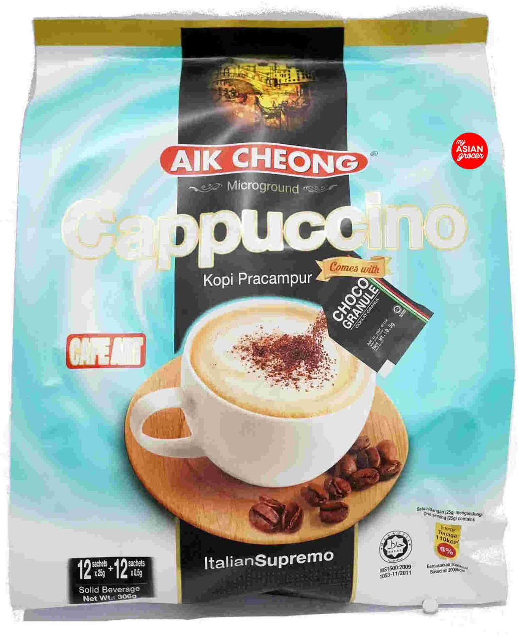 Aik Cheong Cappuccino 25g x 12 Sachets
