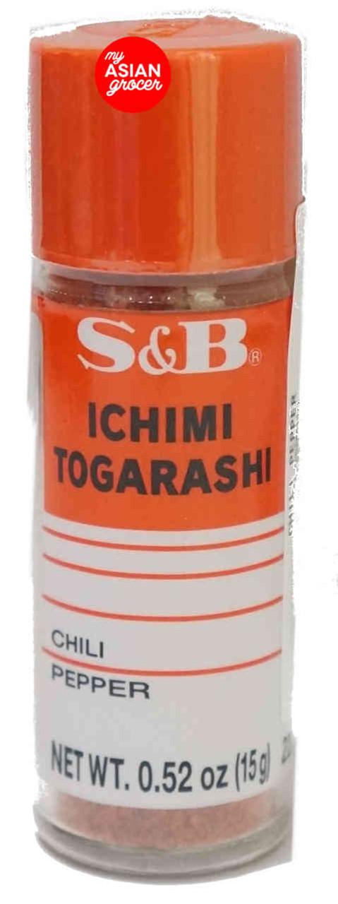 S&B Ichimi Togarashi Chili Pepper 15g