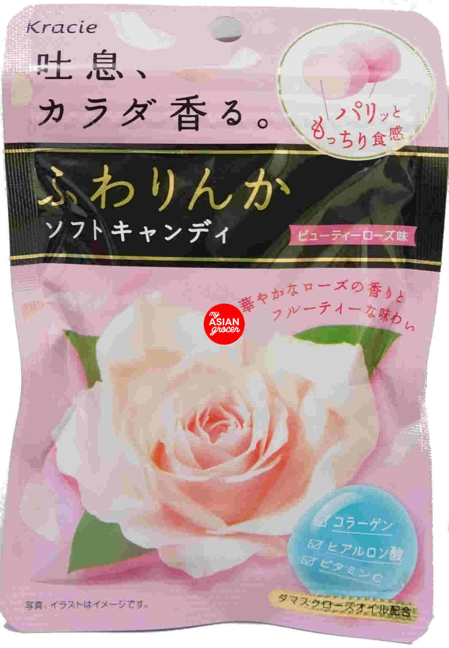 Kracie Rose Soft Candy Berry Flavor 32g