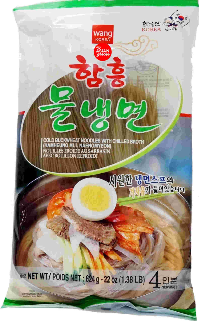 Wang Cold Buckwheat Noodles with Chilled Broth 624g