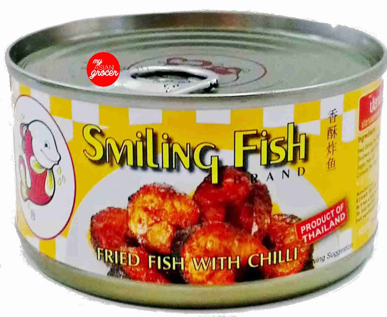 Smiling Fish Brand Fried Fish with Chilli 90g
