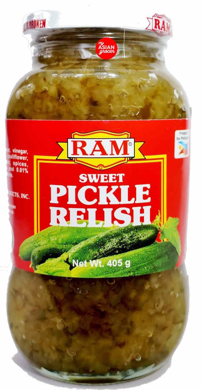 Ram Sweet Pickle Relish 405g My Asian Grocer