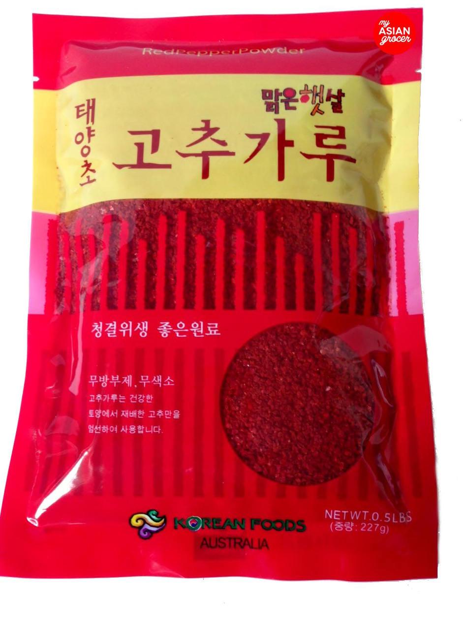 Korean Foods Red Pepper Powder 227g