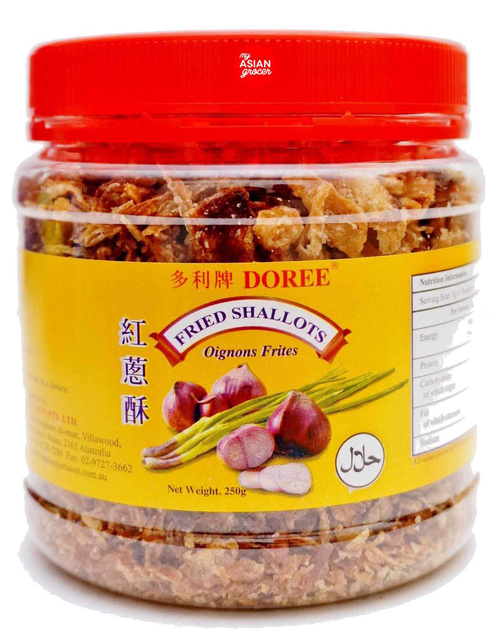 Doree Fried Shallots (Red Onions) 250g