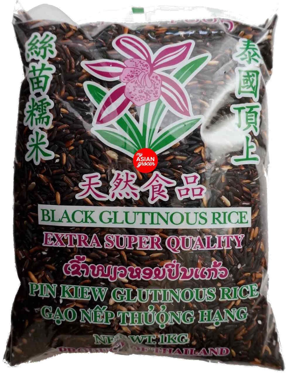Nature Food Black Glutinuous Rice 1kg