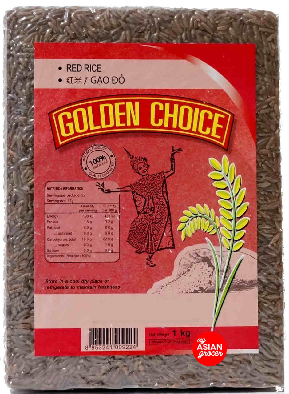 Golden Choice Red Rice 1kg