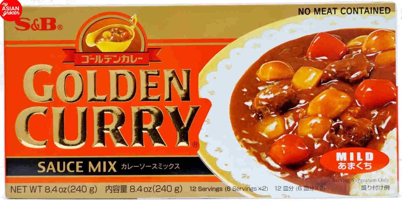 S&B Golden Curry Sauce Mix (Mild) 220g