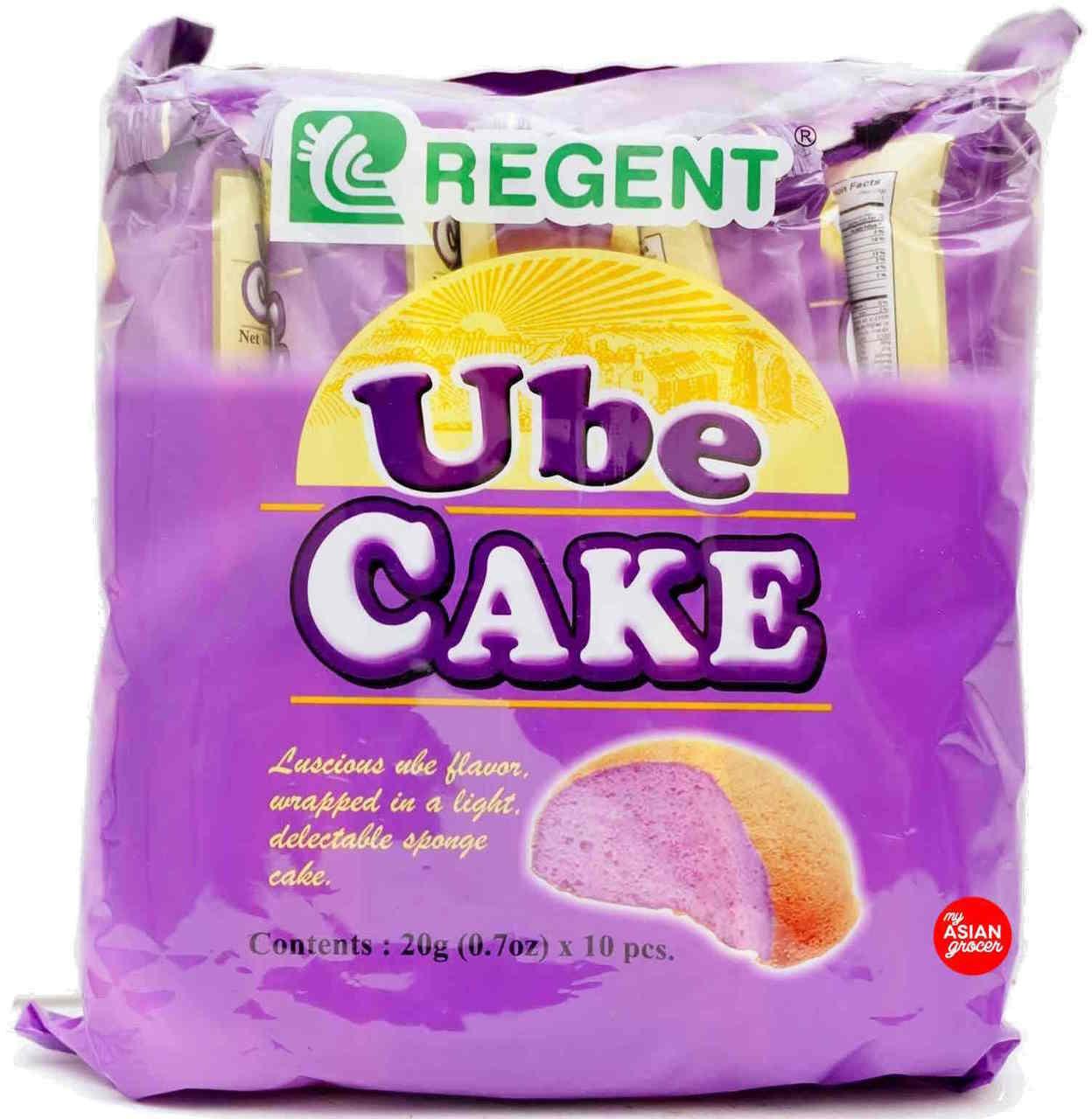 Regent Ube Cake 20g x 10pcs