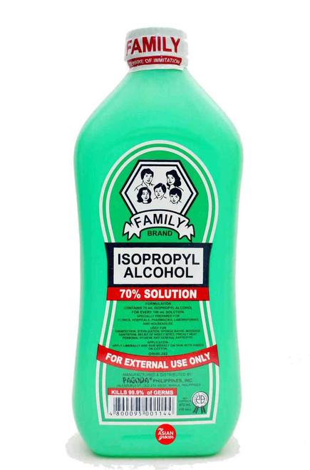 Family Brand Isopropyl Alcohol 473ml