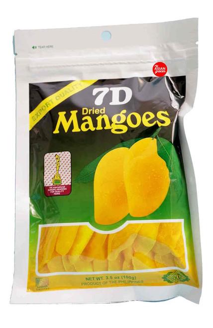 7D Dried Mangoes 100g