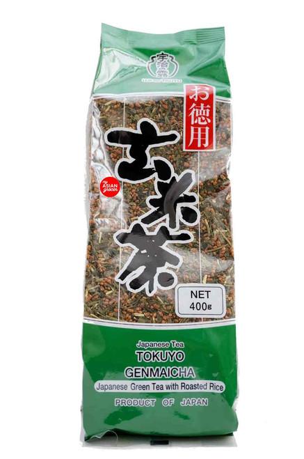 Ujinotsuyu Japanese Tea Tokuyu Genmaicha 400g