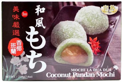 Royal Family Coconut Pandan Mochi 210g